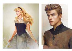 personajes disney reales11
