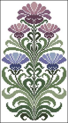 This Pin was discovered by SEH Cross Stitch Heart, Cross Stitch Borders, Crochet Borders, Cross Stitch Flowers, Cross Stitch Designs, Cross Stitching, Cross Stitch Embroidery, Embroidery Patterns, Cross Stitch Patterns