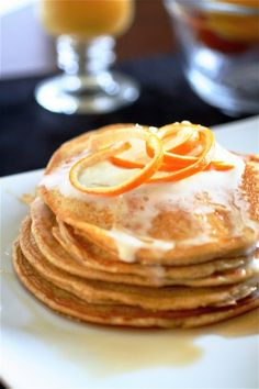 "DoTerra ""Wild Orange"" Essential Oils to make Orange Cloud Pancakes for breakfast. Yummy!  http://mydoterra.com/kimberlygoins"