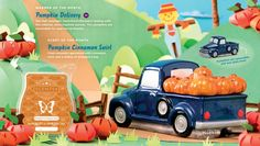 New Scentsy Warmer Oct 2017- Pumpkin Delivery! Available Oct. 1st, Fall/Winter 2017