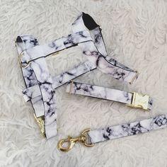 Adjustable dog harness Marble