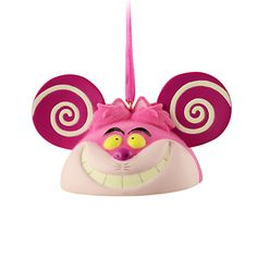 Cheshire Cat Ear Hat Ornament - Ear to ear grin, Item No. 7509002529587P, $21.95, Limited Edition of 6500