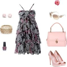 spring, minus the heels and go for flip flops or casual sandals and it be perfect :)