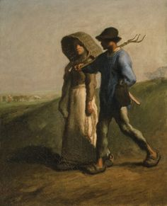 Going To Work Artist/Maker:Jean-François Millet (French, b.1814, d.1875), painter Date:1851-1853
