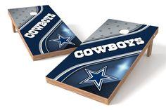 Dallas Cowboys Cornhole Board Set - Swirl
