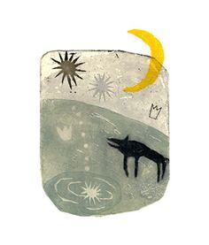 howling to the moon (夜を告げる鐘  kumi obata)