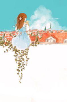 Wonderful, dreamy artwork