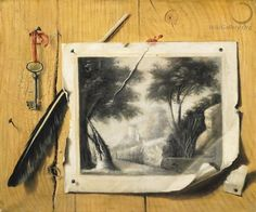 trompe l'oeil wall painting - Google Search