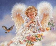 Diamond mazayka DIY Diamond Painting Angel Girl Wings Needlework Embroidery Cross Stitch Fantasy Fairy Products for crafts basement AliExpress Affiliate's Pin. View the item in details by clicking the image Angel Images, Angel Pictures, Cute Pictures, Baby Engel, Angel Wallpaper, I Believe In Angels, Angels Among Us, Glitter Graphics, 5d Diamond Painting