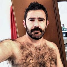 Hirsute, hairy, viril, macho, furry men....mostly! : Photo
