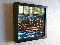 Final Fantasy VI Falcon's Flight Shadowbox by Decor8bitArt on Etsy