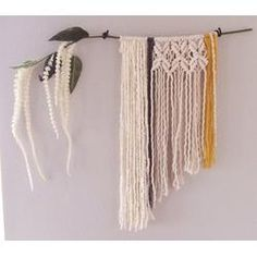 Hand made crochet macrame...