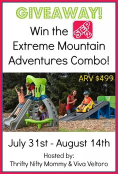 Step2 Extreme Mountain Adventure Combo Giveaway