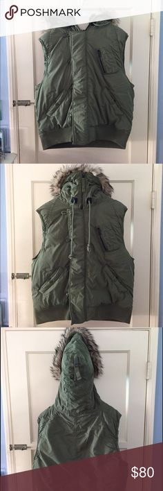 Ralph Lauren Denim & Supply Men's Faux-Fur Vest Men's XL. The vest has essentially never been worn (maybe 2 or 3 times) and it's been well taken care of. Denim & Supply Ralph Lauren Jackets & Coats Vests