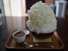 Japanese Shaved Ice - Caramel Milk | Flickr - Photo Sharing!