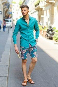 Cómo combinar unas sandalias de cuero marrón oscuro en 2017 (20 formas) | Moda para Hombres