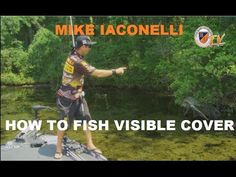How to Fish Visible Cover with Mike Iaconelli - Bass Fishing Tips, Tricks, and Techniques