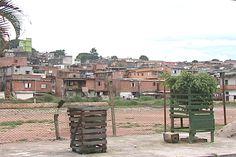 Geographic organization of Capao Redondo. Typical of Sao Paulo favelas.