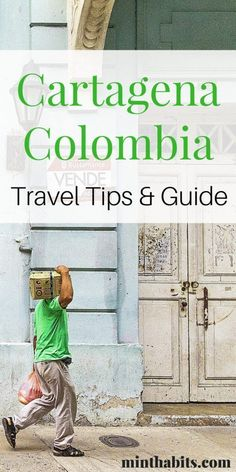 Here are all my best travel tips and advice for Cartagena Colombia! Click here to see them!