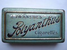 E&W ANSTIE'S (DEVIZES) POLYANTHUS CIGARETTES 50