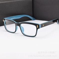 ee3d4eb78f6f Fashion V-Shaped Box Eye Glasses Frames Brand For Men New Women Computer  Frames