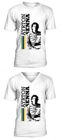 893350efb Muscle car t shirts for men ayrton senna brazil w t shirts men electric cars