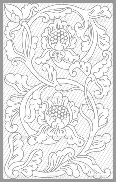 Jogya Floral Set vector drawing of jogya traditional floral set Created: GraphicsFilesIncluded: VectorEPS Layered: No MinimumAdobeCSVersion: CS Tags: blackandwhite Leather Carving, Leather Tooling, Leather Bags, Mural Painting, Fabric Painting, Embroidery Patterns, Quilt Patterns, Bordado Popular, Leather Working Patterns
