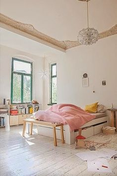 White Flooring // Bo