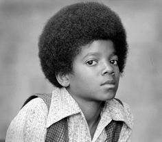 Michael Jackson when it  was small