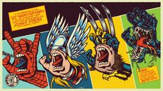 The Blot Says...: Marvel Comics The Screaming Hand Skate Deck ...