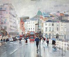 Marching on Waterloo Bridge by Tom Butler