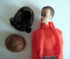 vintage barbie & wigs ;)