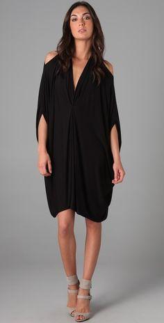 Black cut out Gwyneth caftan dress by Rachel Pally at shopbop