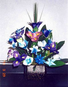 Origami Flower Arrangement
