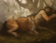 Centaur sleep by ~CG-Warrior on deviantART. Most popular tags for this image include: centaur y mythical Forest Creatures, Magical Creatures, Fantasy Creatures, Subnautica Creatures, Fantasy World, Fantasy Art, Character Art, Character Design, Mythological Creatures