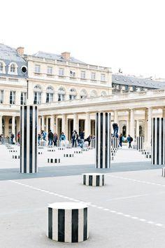 Palais Royal in Paris - http://ruffledblog.com/paris-honeymoon-guide-palais-royal #smallluxuryhotels