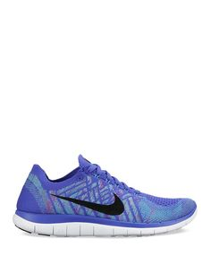 Nike Lace Up Sneakers - Free 4.0 Flyknit