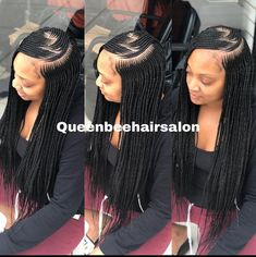 Top 60 All the Rage Looks with Long Box Braids - Hairstyles Trends Ghana Braids Hairstyles, Braided Ponytail Hairstyles, Braided Hairstyles For Black Women, African Hairstyles, Girl Hairstyles, Teenage Hairstyles, Black Girl Braids, Braids For Black Hair, Girls Braids