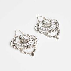 Silver Sundown & Newtide Grand Earrings | Drop Earrings | Bridal Drop Earrings Australia | Samantha Wills