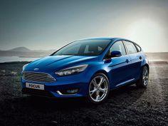 2015 Blue Ford Focus #2015Fordfocus