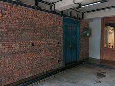 brick wall door antique expose ceiling