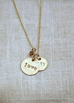 mom necklace...this one is for me