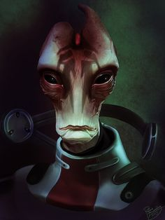 Mass Effect: Mordin Solus by *ruthieee on deviantART