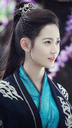 Beautiful Chinese Girl, Beautiful Girl Image, Princess Weiyoung, China Girl, Chinese Actress, Cute Asian Girls, Beauty Women, Asian Beauty, Hairstyle