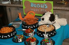 Frogs, Snails, and Puppy Dog Tails Birthday party theme