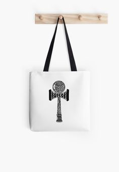 'Kendama' Tote Bag by Adrian Serghie