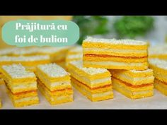 Réteges torta búzadara citromkrém töltelékkel - YouTube