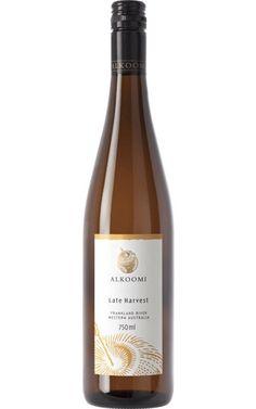 Alkoomi White Label Late Harvest 2018 Frankland River - 12 Bottles Lemon Cream Pies, Golden Delicious Apple, Lemon Curd, Italian Dishes, Pound Cake, Wines, Harvest, Bottles, Label