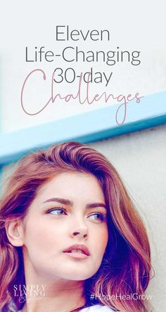 If you'd like to make a change in your life, consider using a challenge to jumpstart the process. Try something new for 30 days and see what happens. Yoga Routine, Self Development, Personal Development, Spiritual Development, Guided Meditation Audio, 30 Tag, 30 Day Challenge, Thigh Challenge, Plank Challenge
