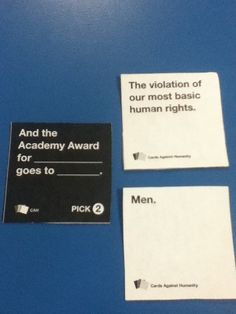 I love Cards Against Humanity.